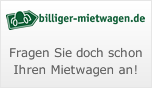 Billiger Mietwagen