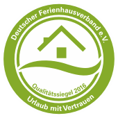 Wir sind geprüft und zertifiziert vom Deutschen Ferienhausverband e.V.